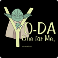 """Yoda One for Me"" - Kids' Long Sleeve T-Shirt"