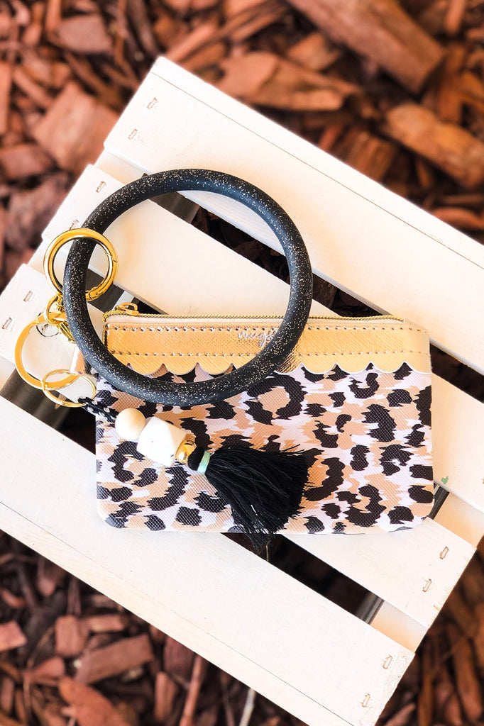 The Kelly Bangle Wristlet