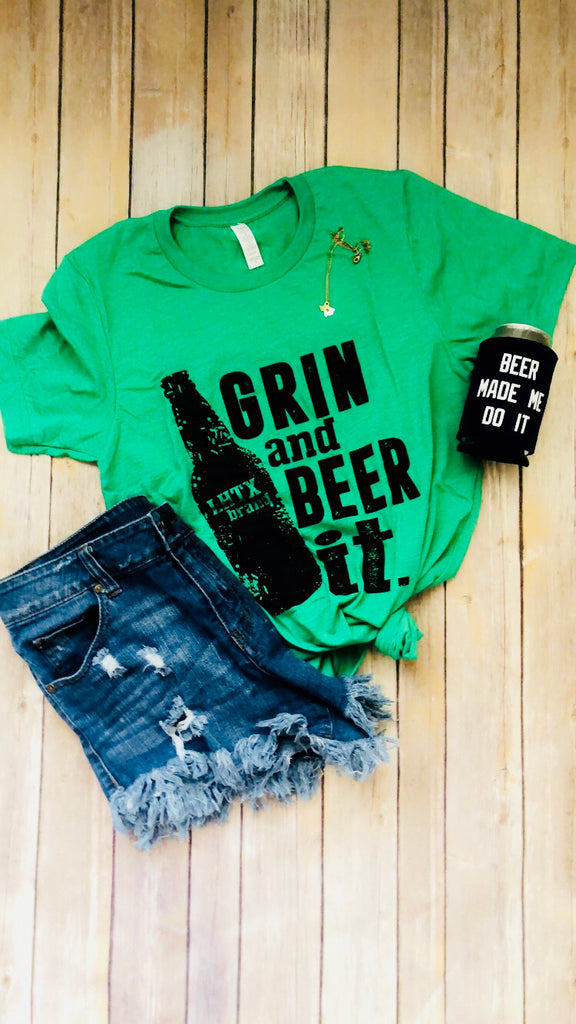 Grin & Beer It Tee