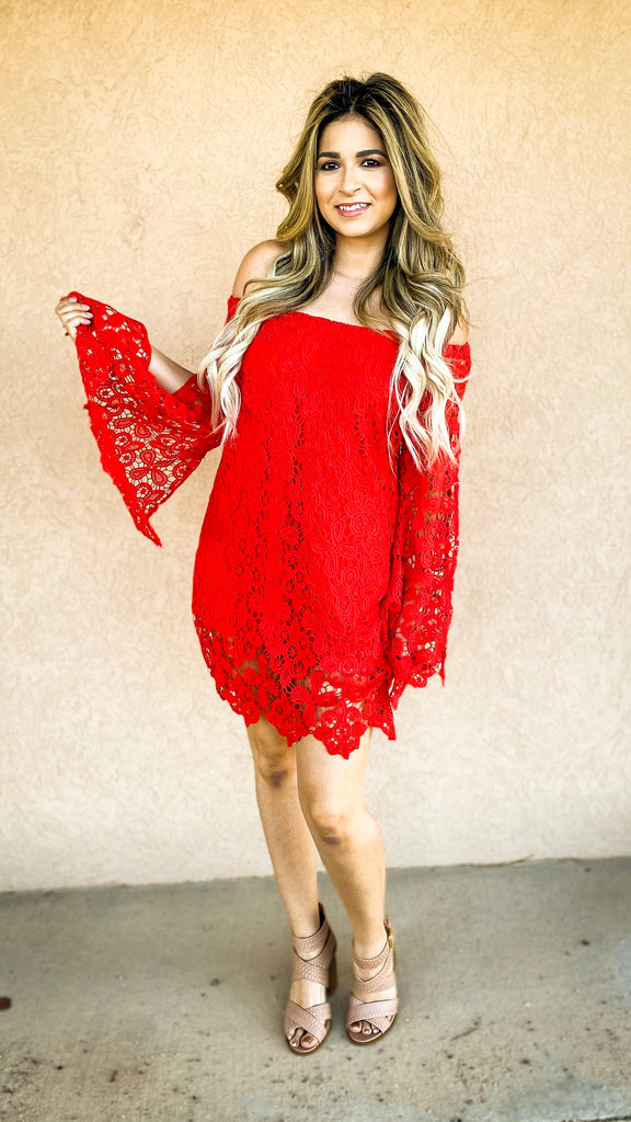Laced In Love Dress
