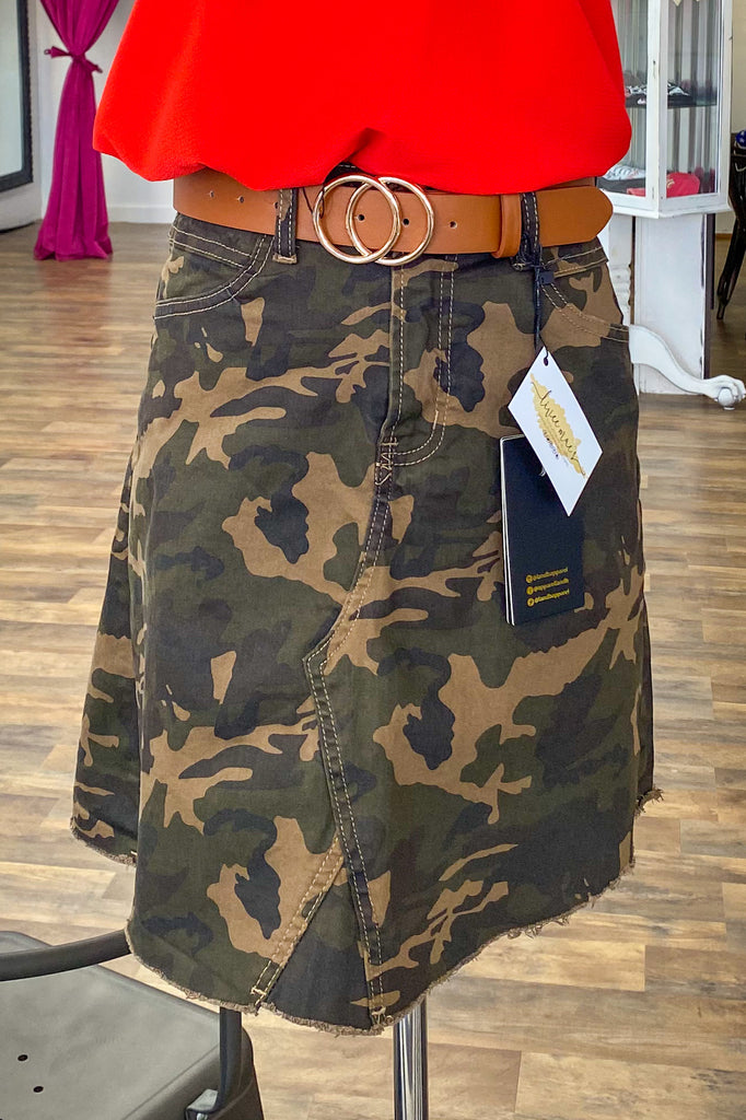 At Attention Skirt