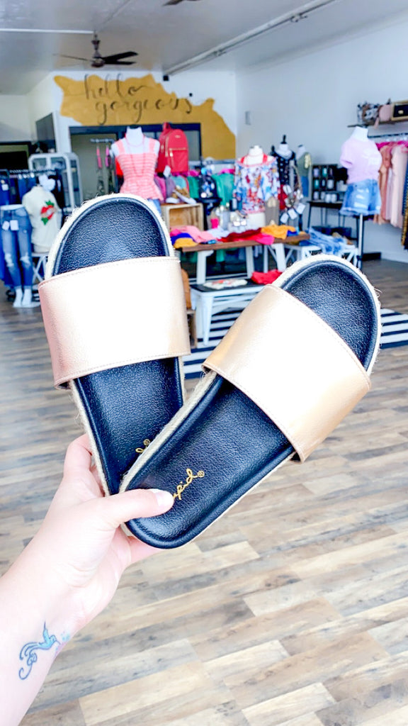 Shine For You Sandals