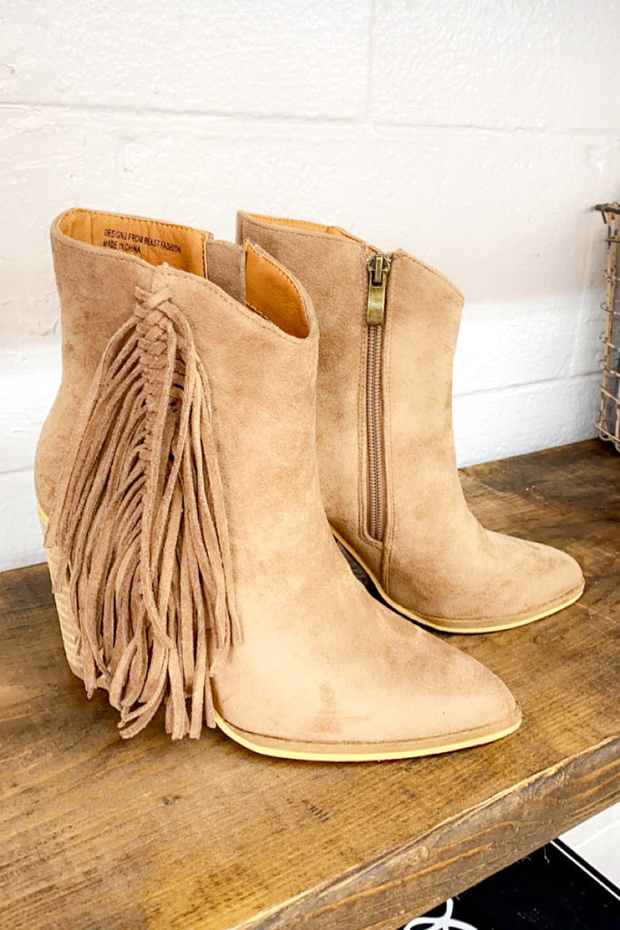 Forever Taupe'd About Booties