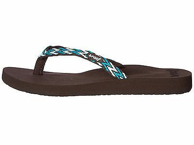 bd171552f1d80e REEF Ginger Drift Teal Multi Women s Sandals Flip Flops – Shoe Locker