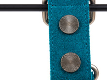 Deep Teal Suede Collar