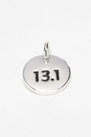 13.1 Silver Plated Disc Charm