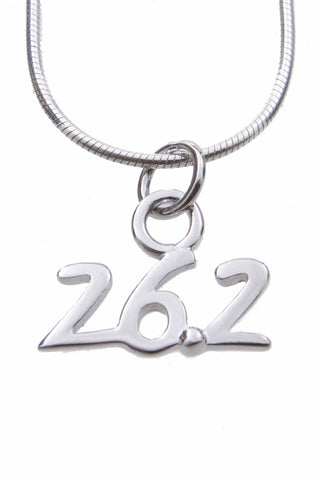 26.2 Silver Plated Floating Charm
