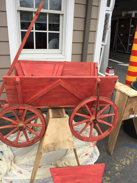 You Can't Paint My Little Red Wagon!