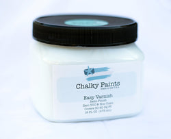 Easy Varnish Satin Finish 16 oz. - Chalky Paints & Finishes