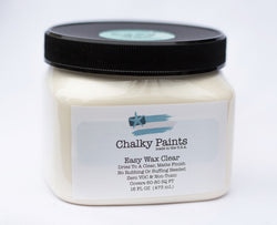 Easy Wax Clear 16 oz. - Chalky Paints & Finishes
