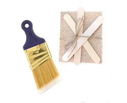 Made In The USA Paintbrush Pack - Chalky Paints & Finishes