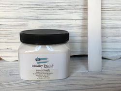 Sandy Beach Chalky Paint 16 oz. Covers 75 sq ft! - Chalky Paints & Finishes