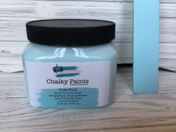 Tide Pool Chalky Paint 16 oz. Covers 75 sq ft! - Chalky Paints & Finishes