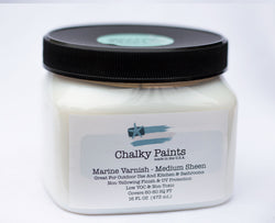Marine Varnish Medium Sheen 16 oz. - Chalky Paints & Finishes