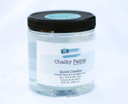 Quick Crackle 8 oz. - Chalky Paints & Finishes
