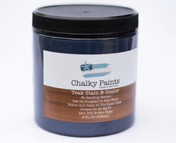 Teak Stain & Sealer 8 oz. - Chalky Paints & Finishes