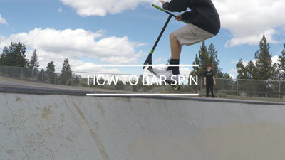 Scooter Tricks: How to Do a Barspin