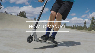 Scooter Tricks: How to do a Manual