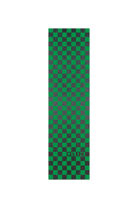 delta pro scooters flik griptape - green/black checkers