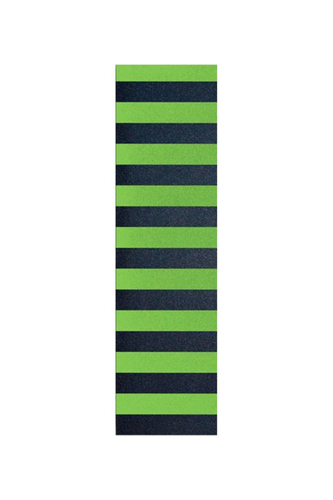 delta pro scooters flik griptape - black/green stripes