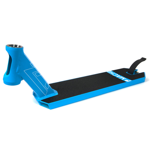 delta pro scooters mach one integrated deck - blue
