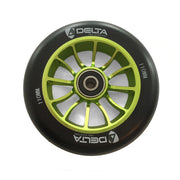 delta pro scooters recon 110mm wheels - green