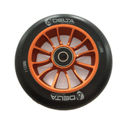 delta pro scooters recon 110mm wheels - orange