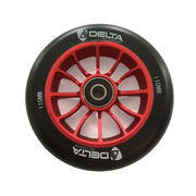 delta pro scooters recon 110mm wheels - red