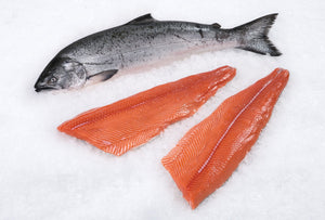 Wild Atlantic Salmon Fillets FROZEN