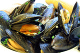 Fresh Maine Blue Mussels
