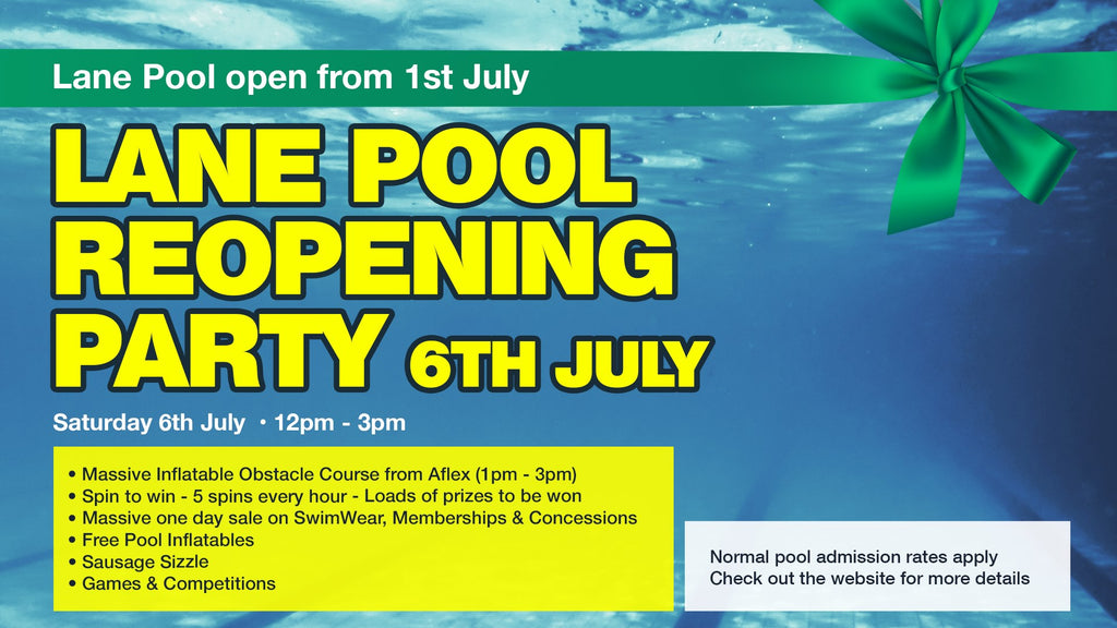 Lane Pool Opening Party