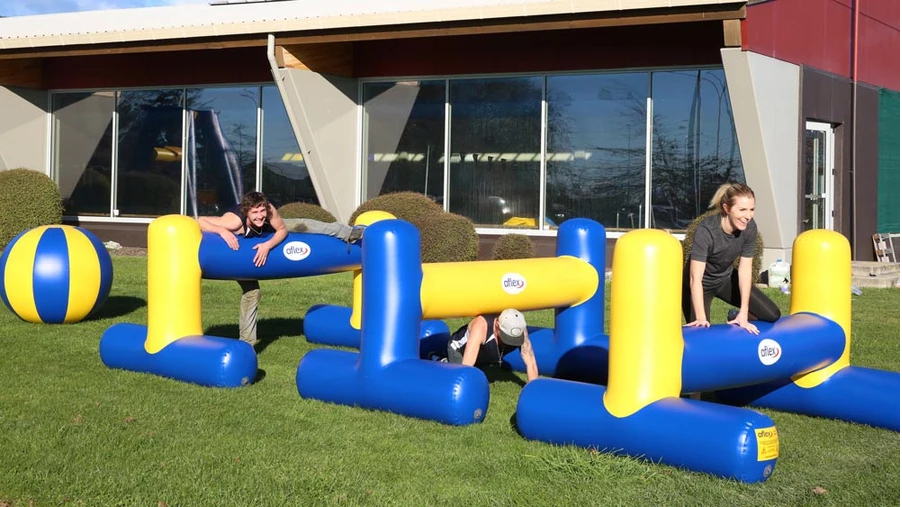 Aflex Inflatables Building Champions Obstacle Challenge