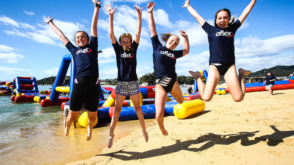Aflex brings Aqua Adventure to Kaiteriteri!
