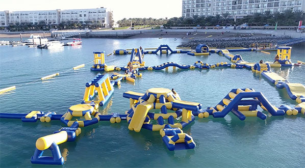 Aqua Fun at the grand Millennium Resort Mussanah, Oman