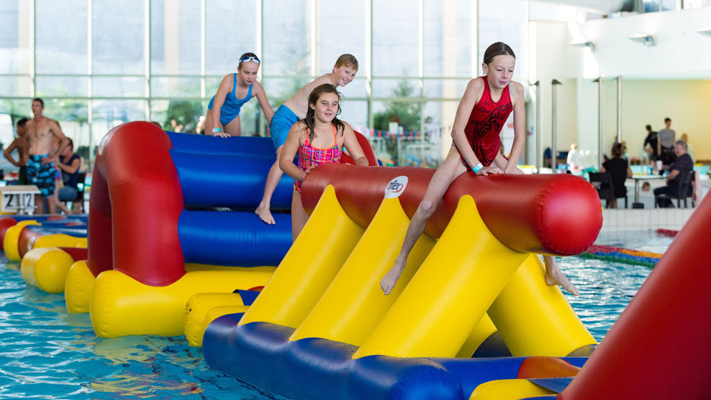 Aflex Aqua Fun Wall - Commercial Pool Inflatables