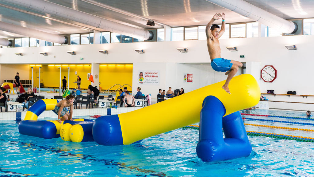 Aflex Commercial Pool Inflatables - Cannon