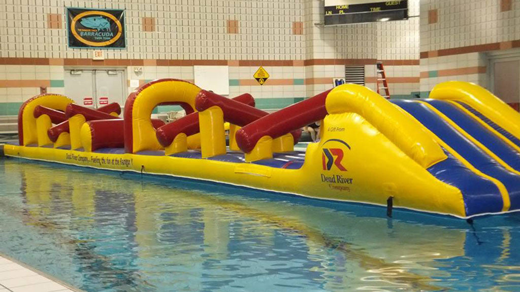 Bangor Ymca Uses Aflex Inflatable To Promote Health And Fitness Aflex Technology