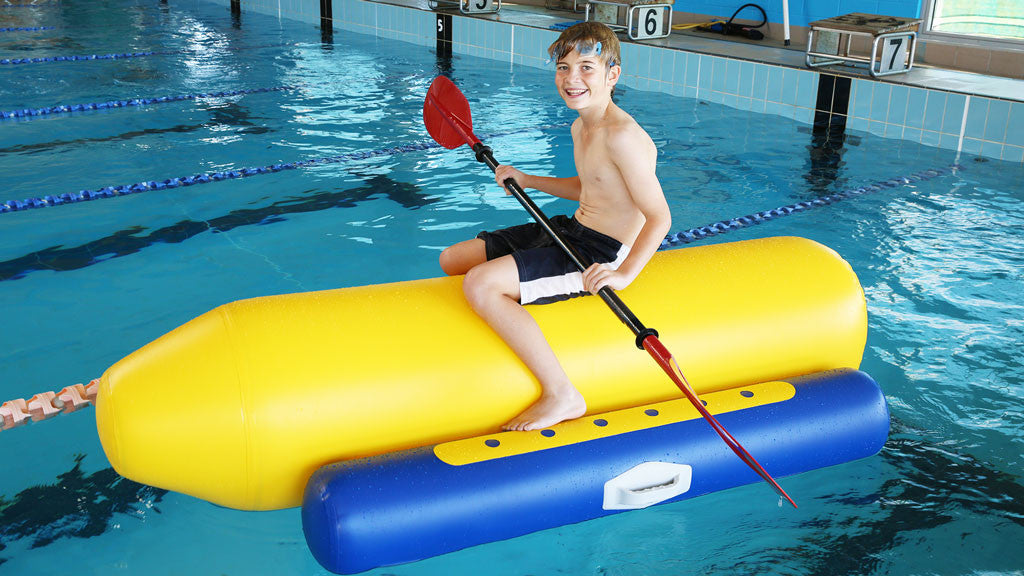 Shuttle Commercial Pool Inflatable Toy - Aflex Technology