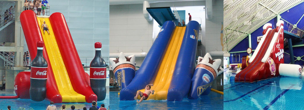 Custom Inflatable Dive Board Slide Supplier Aflex Technology