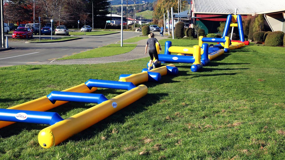 Quick Steps - Fun & Fitness Inflatable Obstacles - Bouncers - Aflex Technology