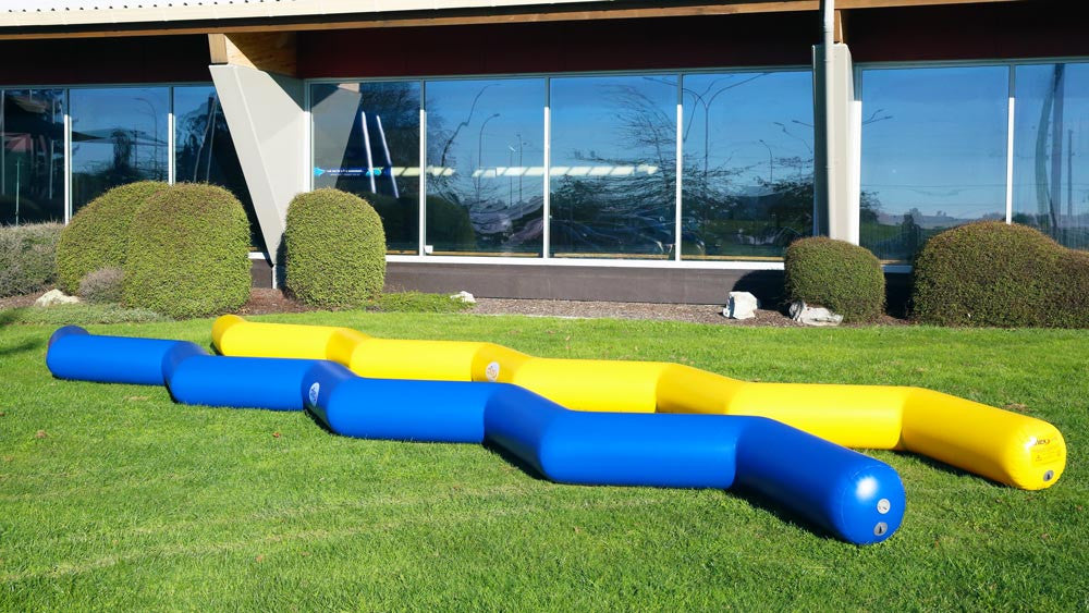 Zig Zag Run - Fun & Fitness Inflatable Obstacles