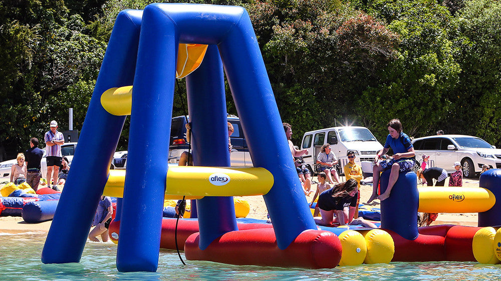 Open Water Inflatable Aqua Park Swing- Aflex Technology - Aqua Adventure Series