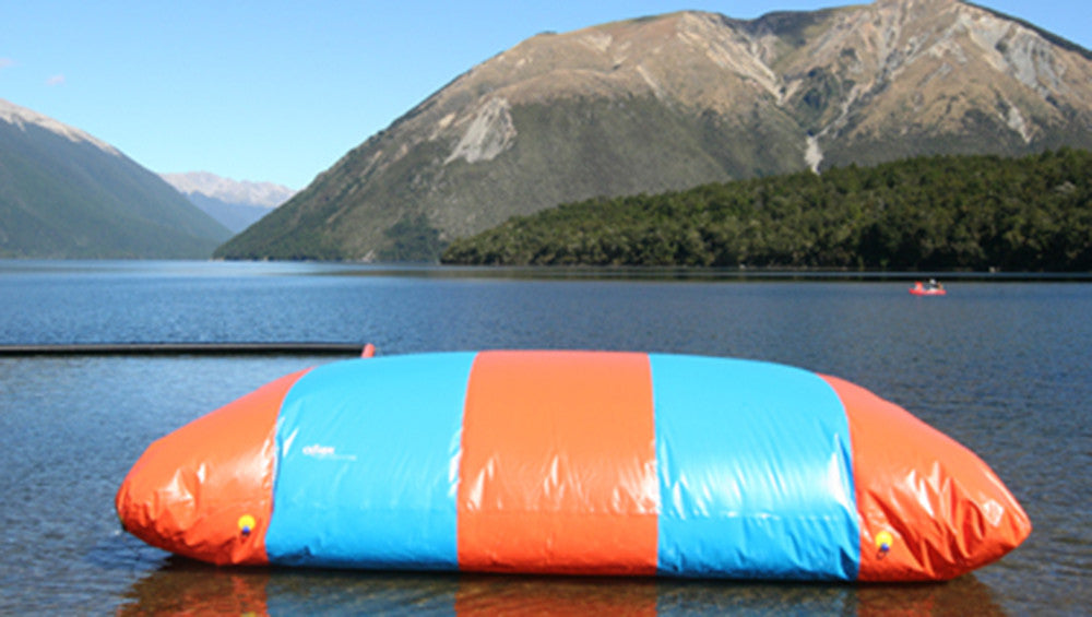 Blob Bounce pillow for Open Water Aqua Park - Aflex Technology Inflatable Waterpark