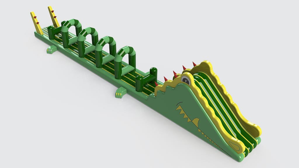 Crocodile - Constant Airflow Obstacle Courses - Aflex Technology