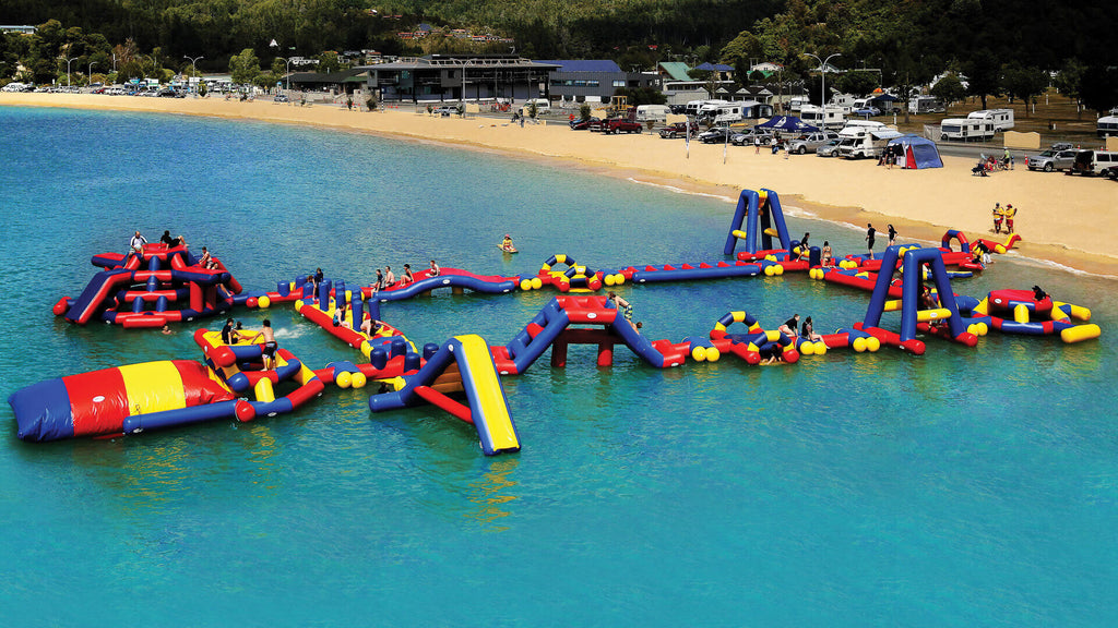 XL Waterpark - Open Water Aqua Adventure - Aflex Technology