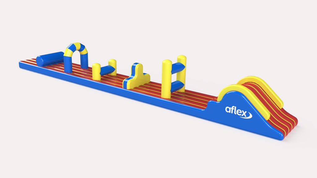 Aqua Dash - Constant Airflow Obstacle Courses - Aflex Technology