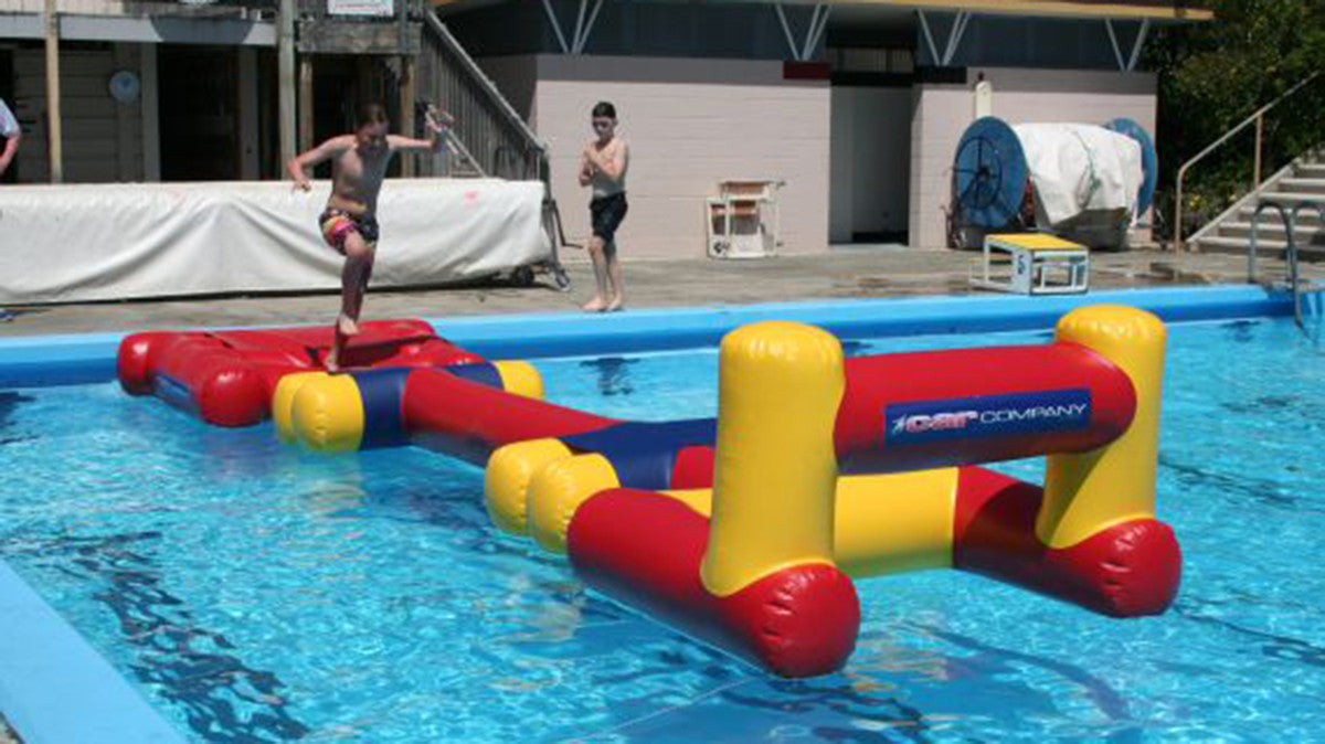 High Jump - Pool Obstacle Course Module - Pools Aqua Fun - Aflex Technology