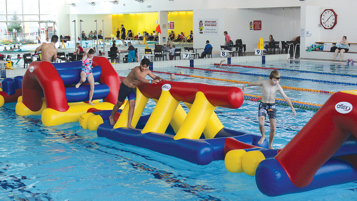 Wall - Pools Aqua Fun - Aflex Technology