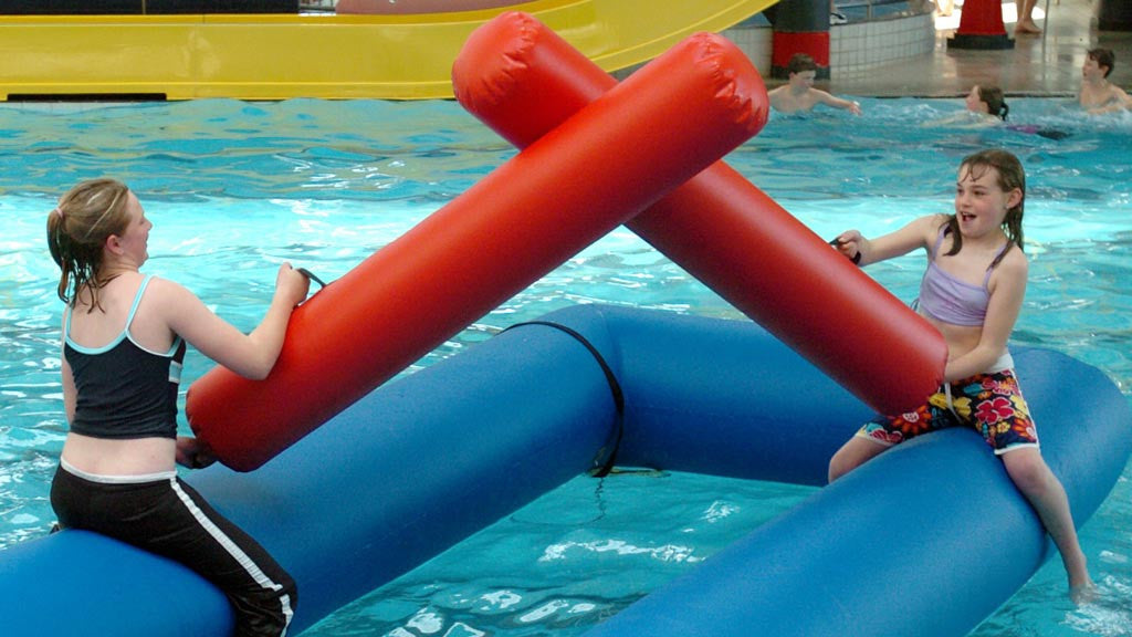 Aqua Joust - Sealed Inflatable Pool Toys & Games - Aflex Technology