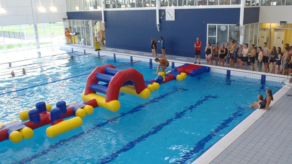 Aqua Run Challenge - Pools Aqua Fun - Aflex Technology